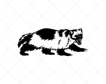 WOLVERINE Clipart -Vector Clip Art Graphics -Digital Wolverine Clipart Image-Cut  Ready Files-