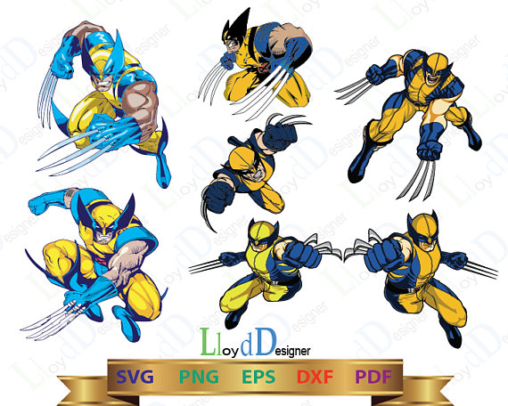 Wolverine svg wolverine clipart wolverine marvel wolverine xmen wolverine  print wolverine gift wolverine claws svg eps png pdf dxf files from  LloydDesigner hdclipartall.com