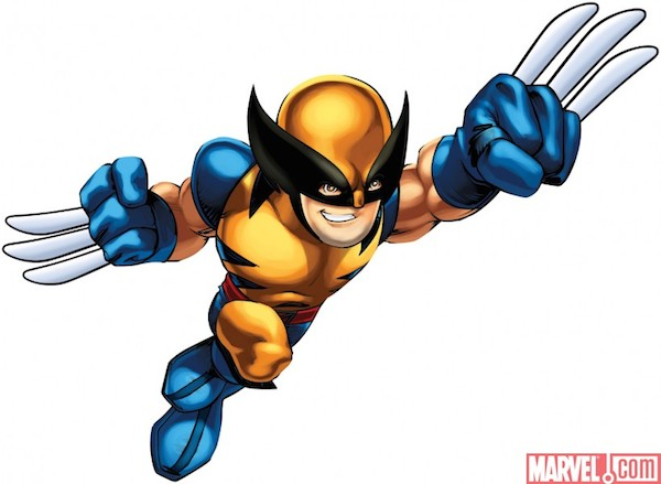 X Men Wolverine Clipart #1