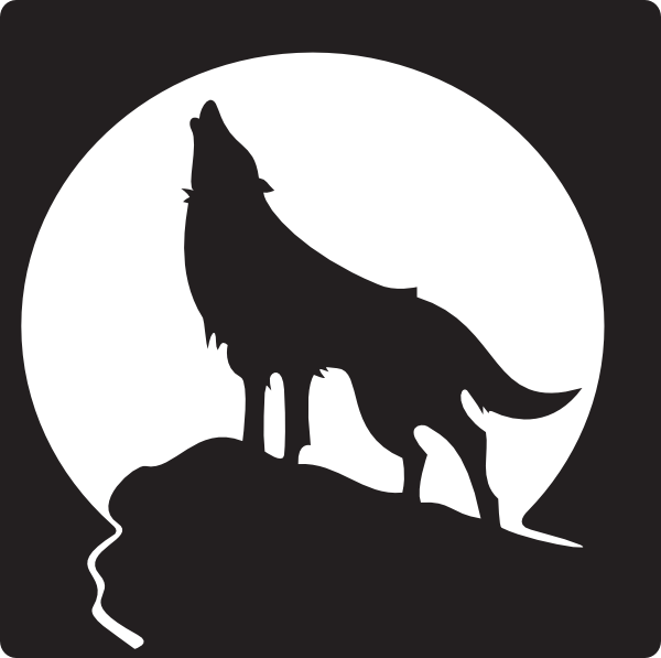 Free Clip Art Wolves | Howling Wolf Clip Art - Vector Clip Art Online,  Royalty Free U0026 Public .
