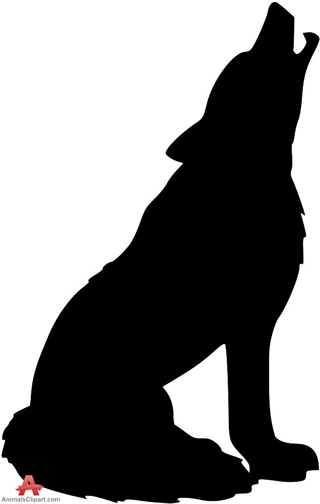 Howling Wolf Silhouette Clipart | Free Clipart Design Wolves Clipart - ClipArt  Best - ClipArt Best