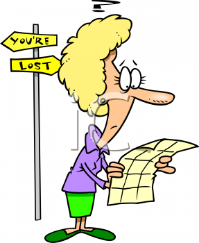 Woman And Man Lost Car Driving Clipart Cliparthut Free Clipart