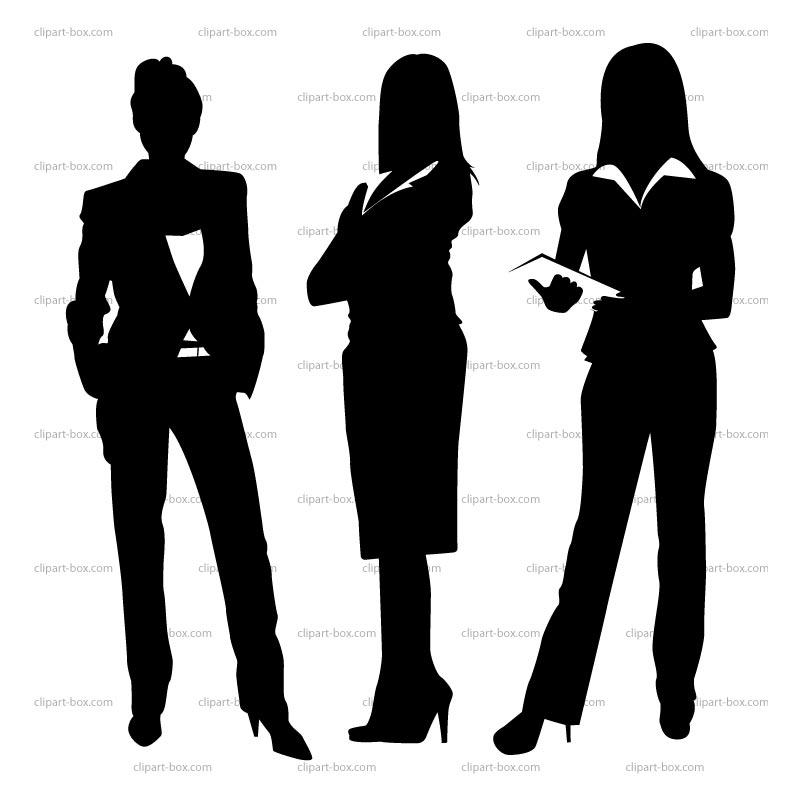 Business Women Clipart #1
