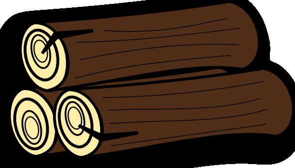 Wood Log Clipart