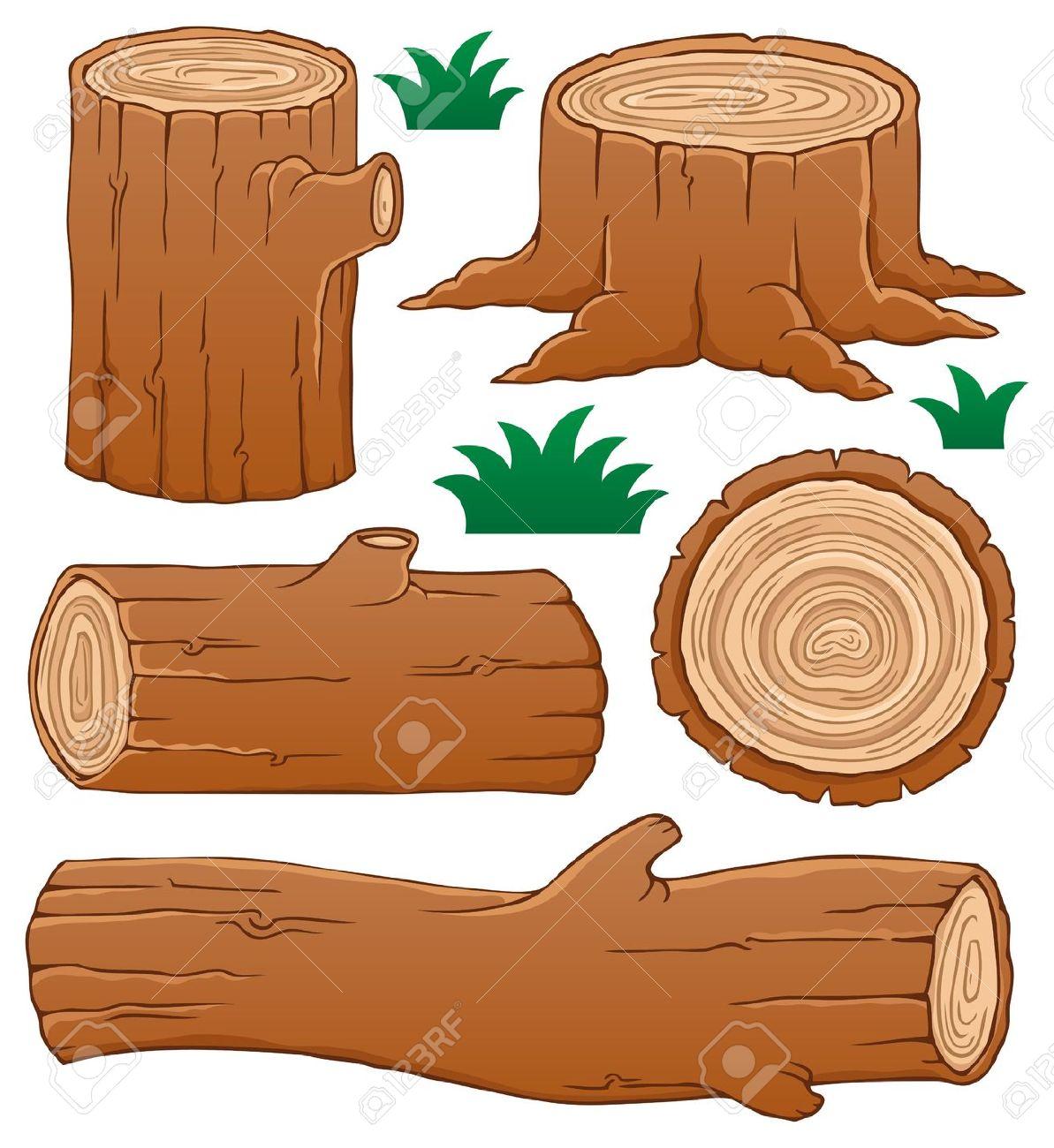 wood log: Log theme collection .