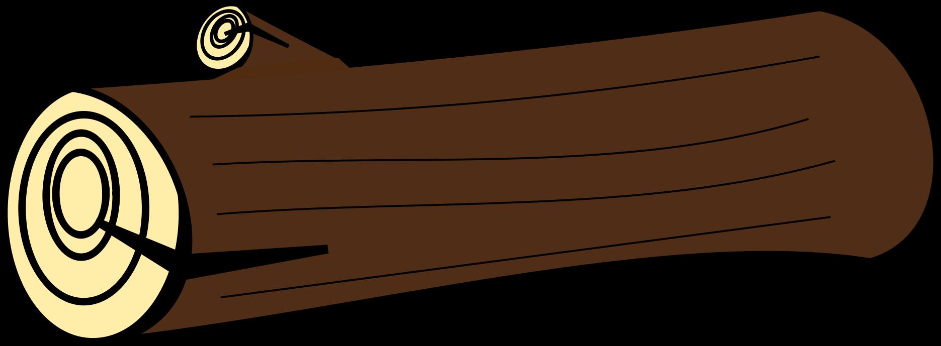 Wooden Log Clipart #1. BIG IMAGE (PNG)