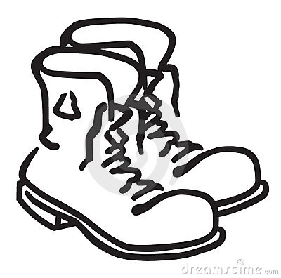 Work Boots Clip Art Images Pictures Becuo