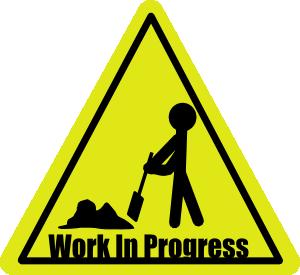 Work In Progress Clip Art