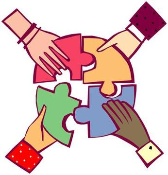 Working Together Clipart .