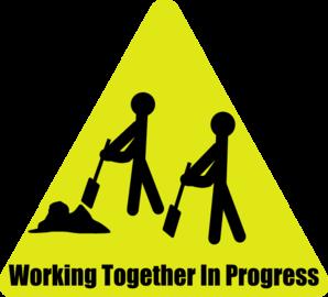 Working Together In Progress Clip Art At Clker Com Vector Clip Art