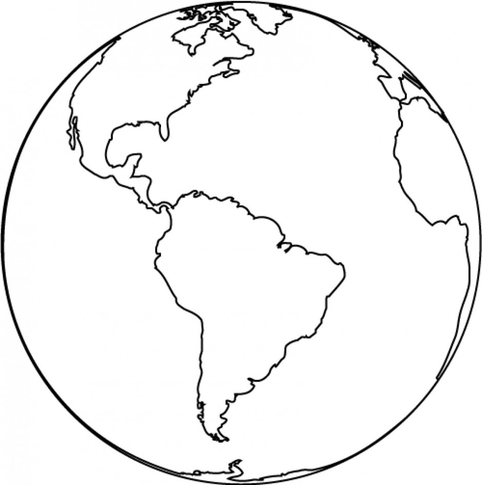 World Black And White Globe Clipart Black And White Free Images