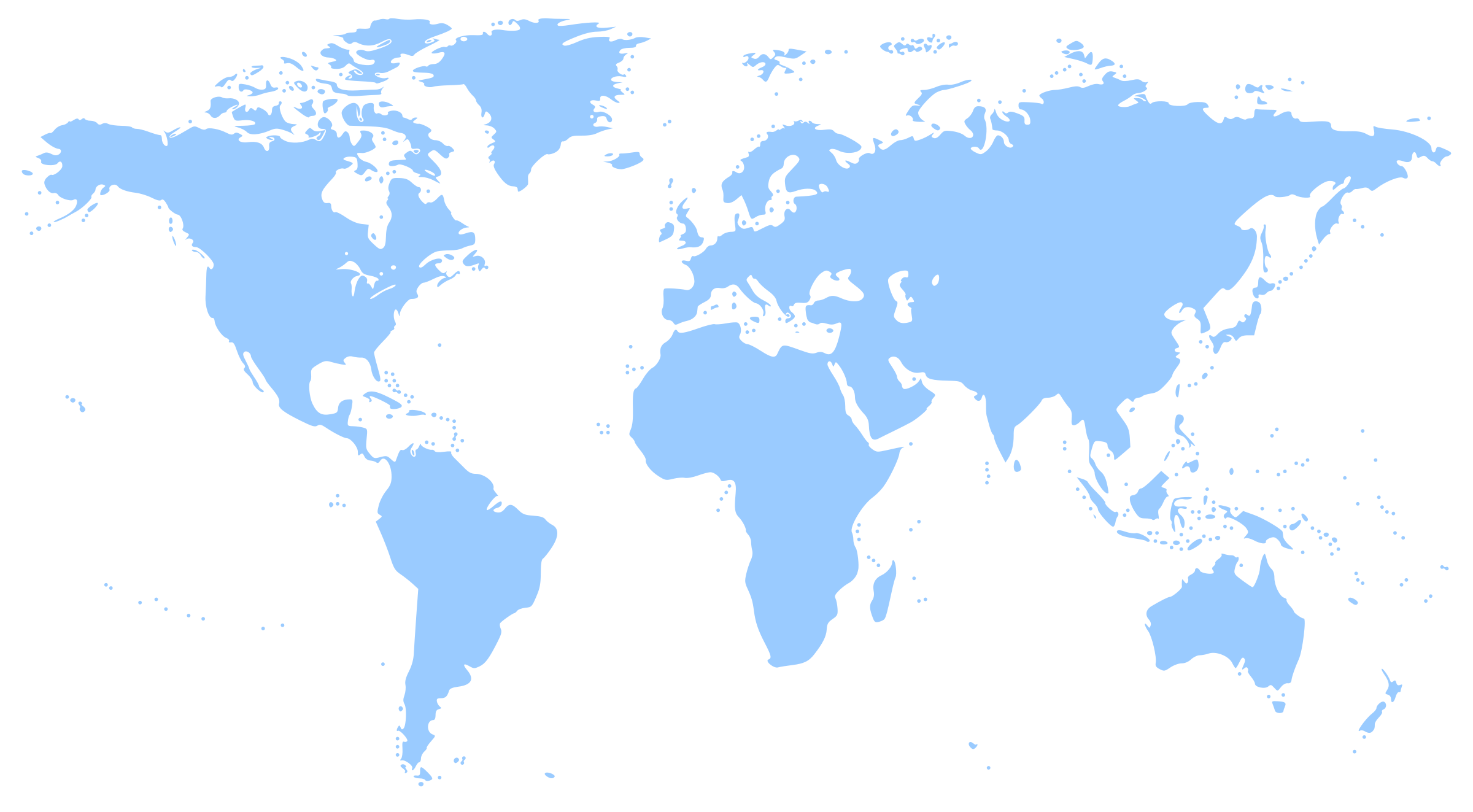 World Map Clip Art 1