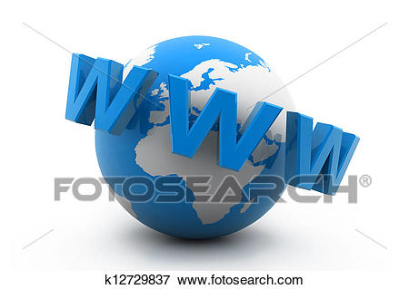 Stock Illustration - World Wide Web. Fotosearch - Search EPS Clipart,  Drawings, Decorative