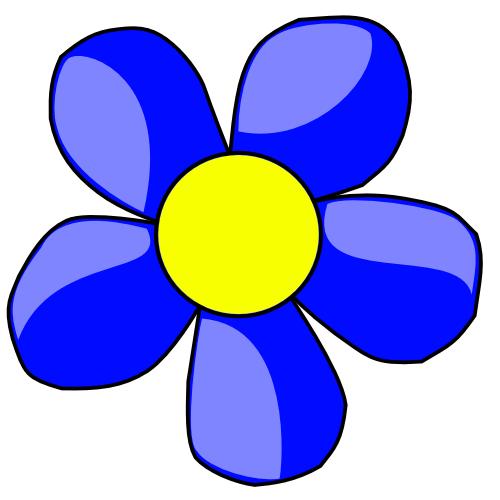 Wpclipart Com Plants Flowers Colors Blue Flower Flower Blue Png Html