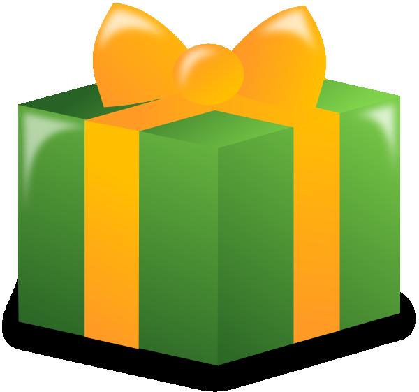 Wrapped Present Clip Art At Clker Com Vector Clip Art Online