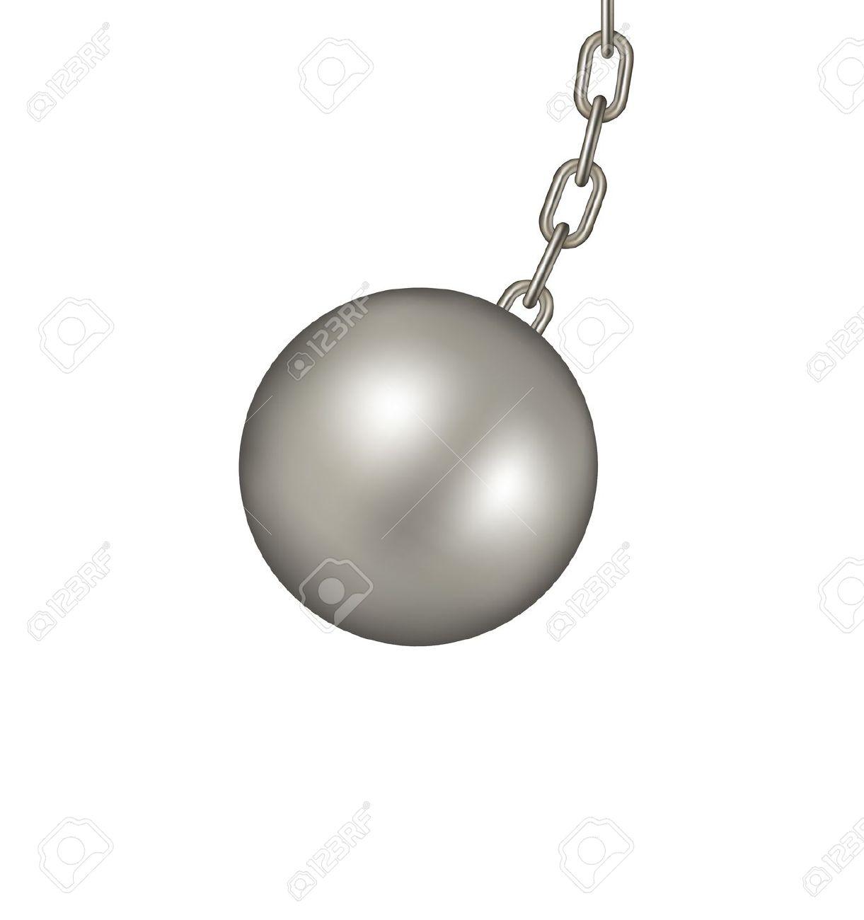 Wrecking Ball Clipart #1