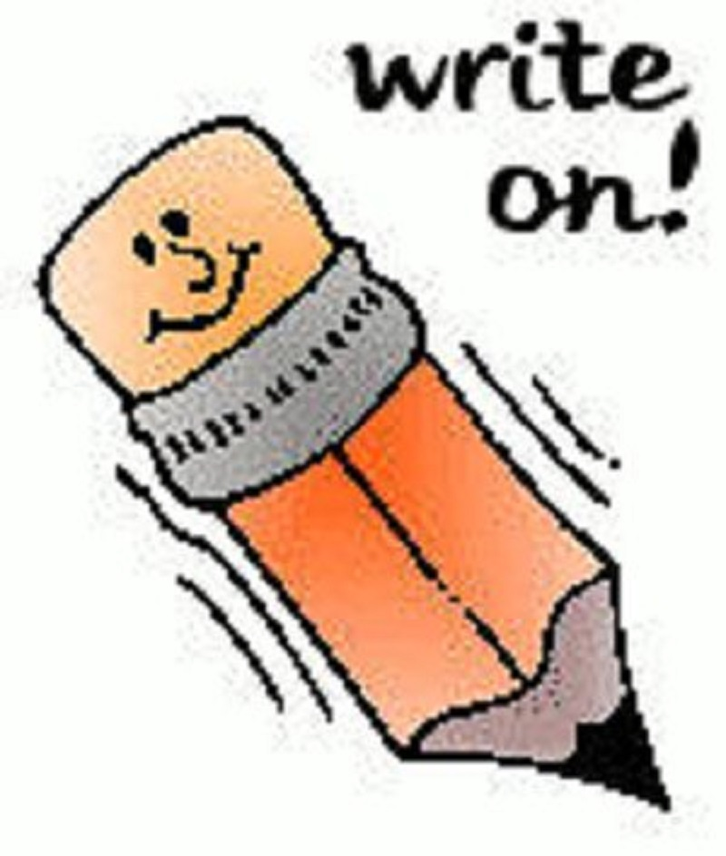 Writing clip art free clipart images