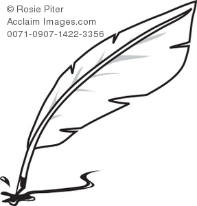Writing quill clipart - ClipartFest