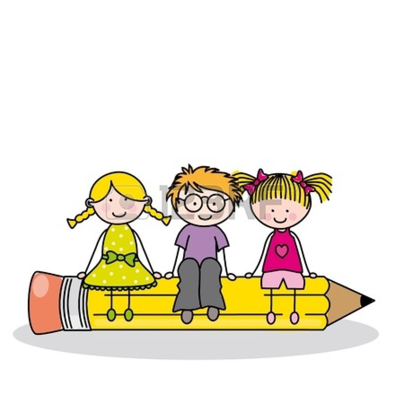 Writing school clipart