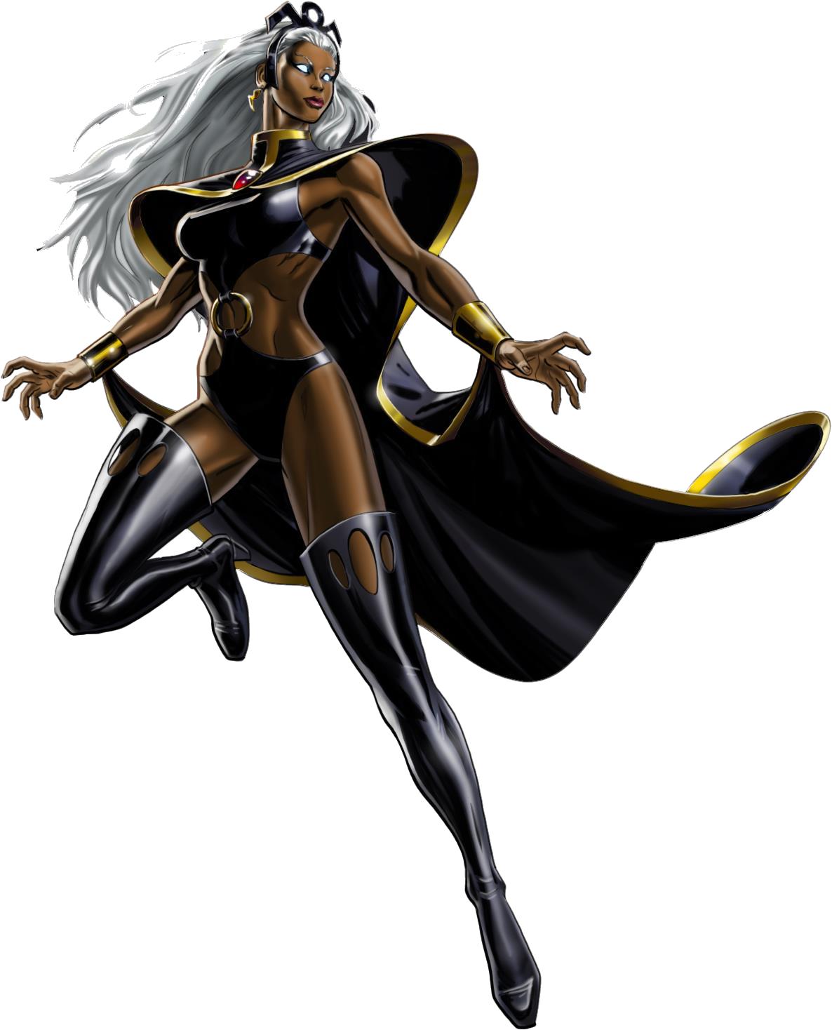 Storm X Men PNG Clipart