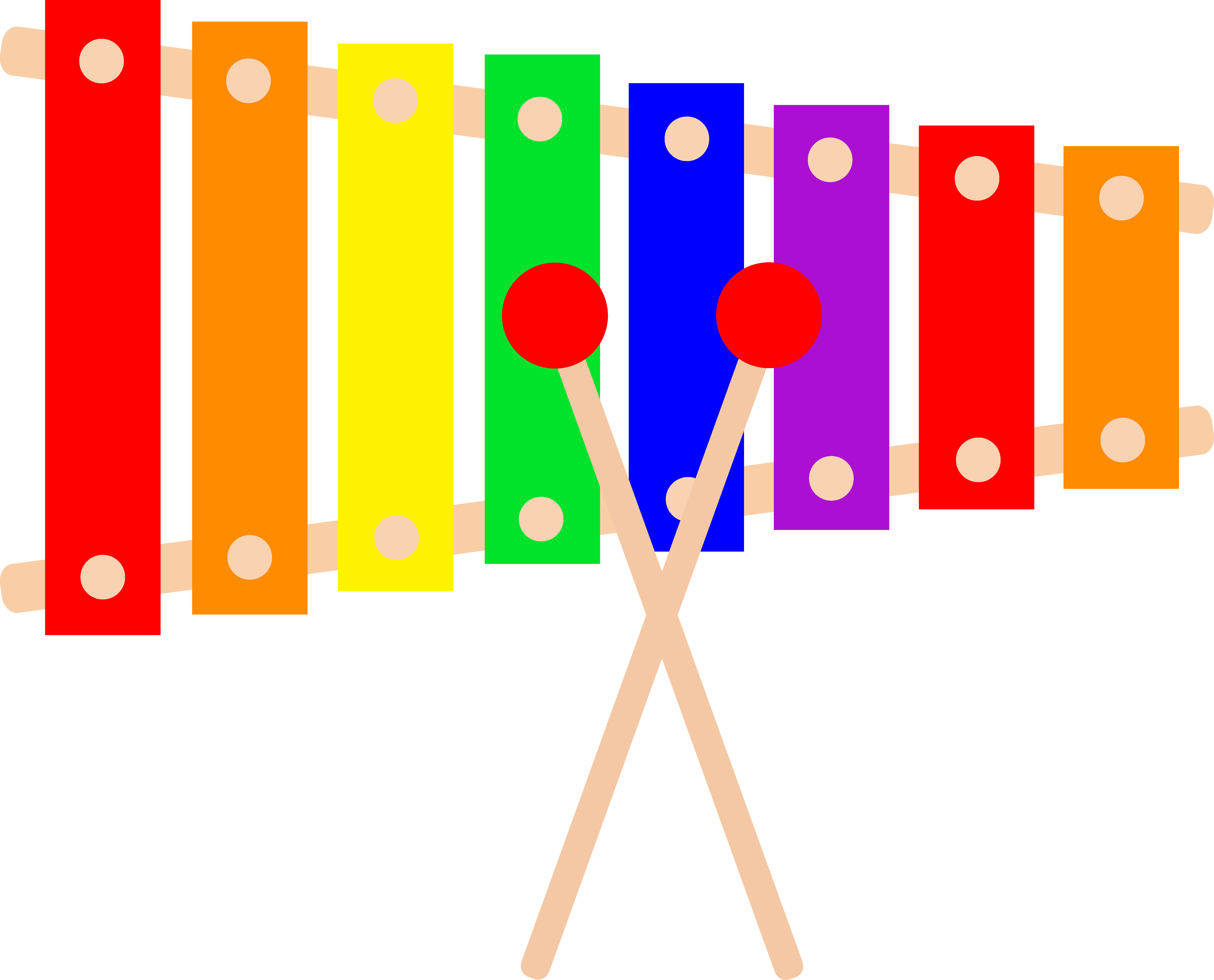 Xylophone Clip Art Free