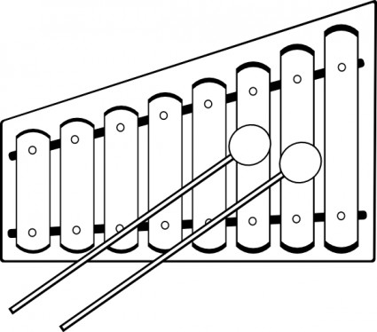 ... Xylophone Clipart ...