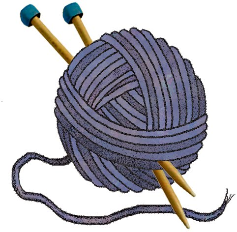 Yarn And Needles Clipart Clipart Best