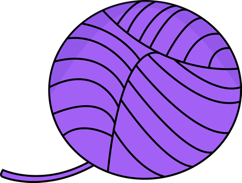 Yarn cliparts