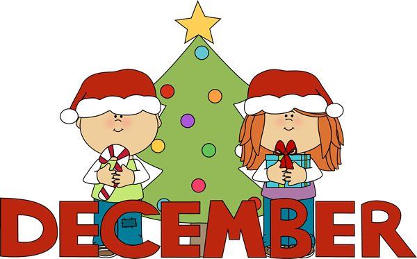 Year Clip Art Art Calendar Christmas December Birthday Art Months