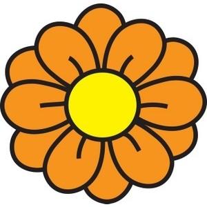 Yellow Flower Clip Art - clipartall ...