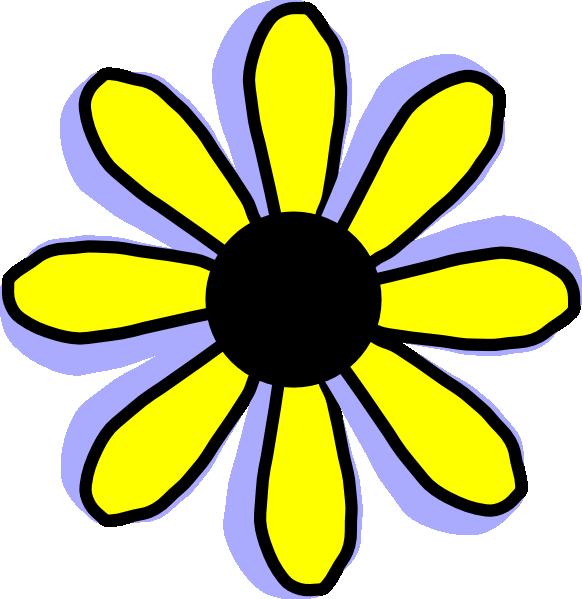 Yellow Flower Clipart   Cool Eyecatching tatoos