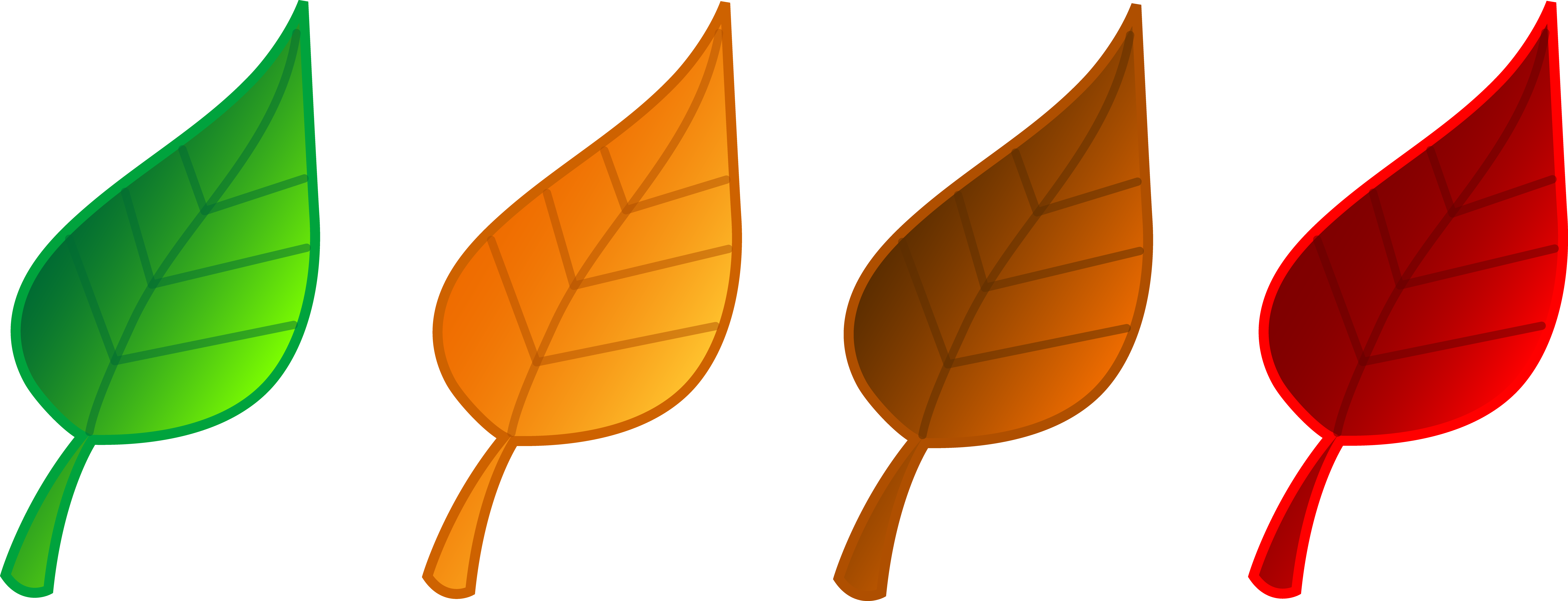 Yellow leaf clipart free .
