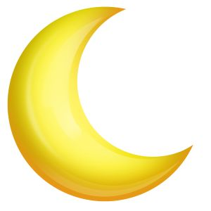 Yellow Moon Clipart Published By Child Injury Lawy