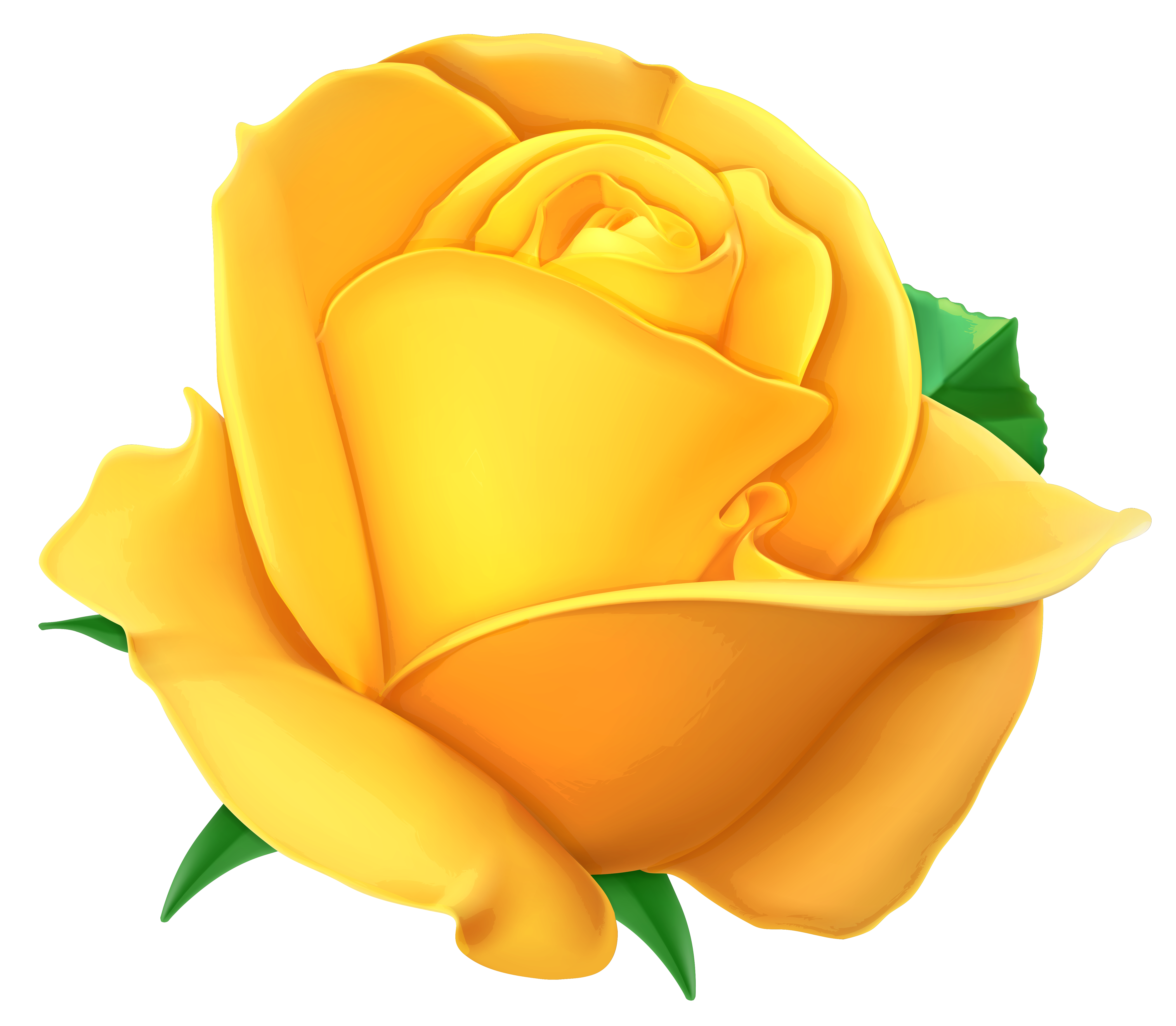 ... Yellow Rose Clipart - clipartall ...