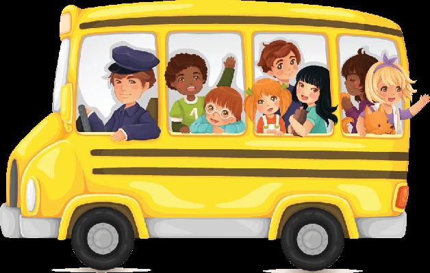 Yellow School Bus Full of Cute .