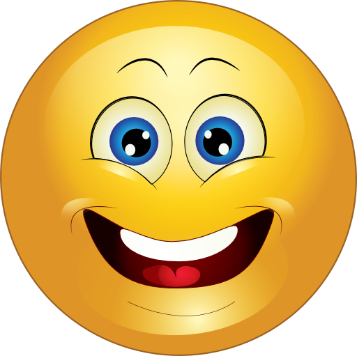 Yellow Surprised Smiley Emoticon Clipart Royalty