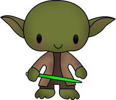 Cute Yoda Clipart
