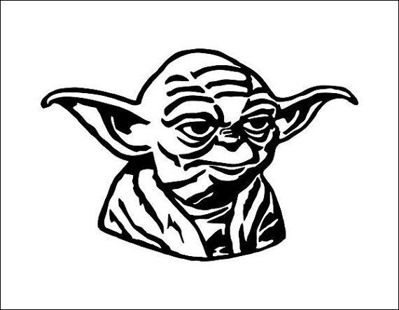 Star wars vector model svg cd - Yoda Clipart