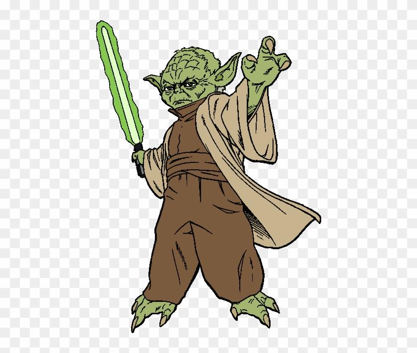 Star Wars Yoda Clipart Kid -  - Yoda Clipart