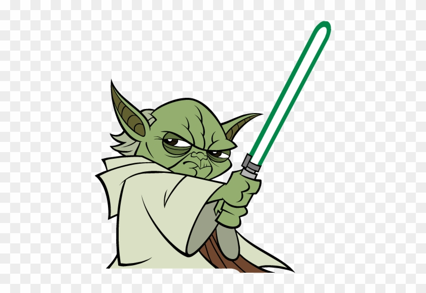 This Is Best Star Wars Clip Art - Star Wars Yoda Clipart