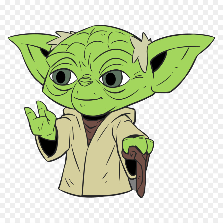 Yoda Count Dooku Luke Skywalker Anakin Skywalker C-3PO - wars clipart