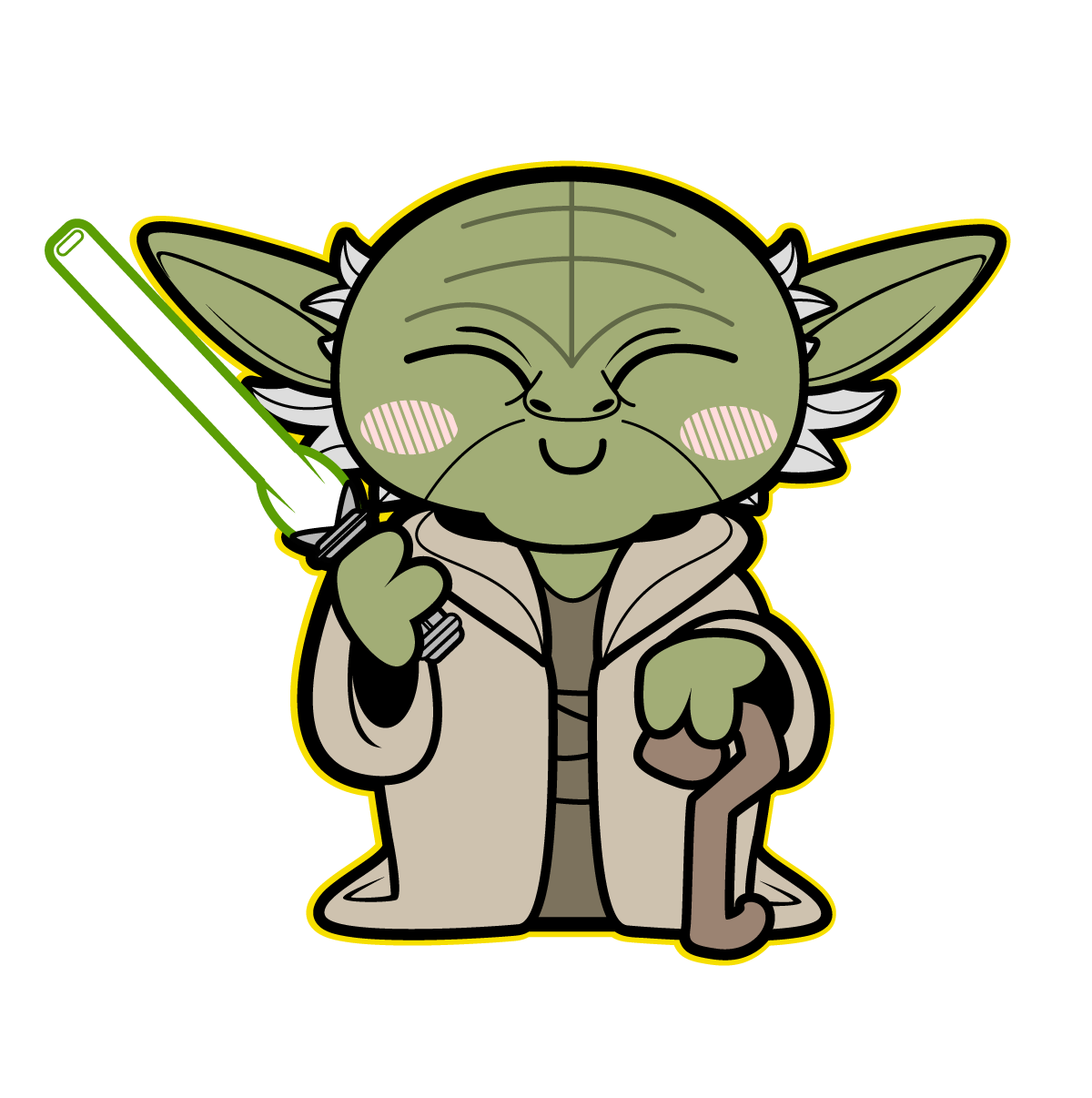 yoda | TieFighters | Star War - Yoda Clipart