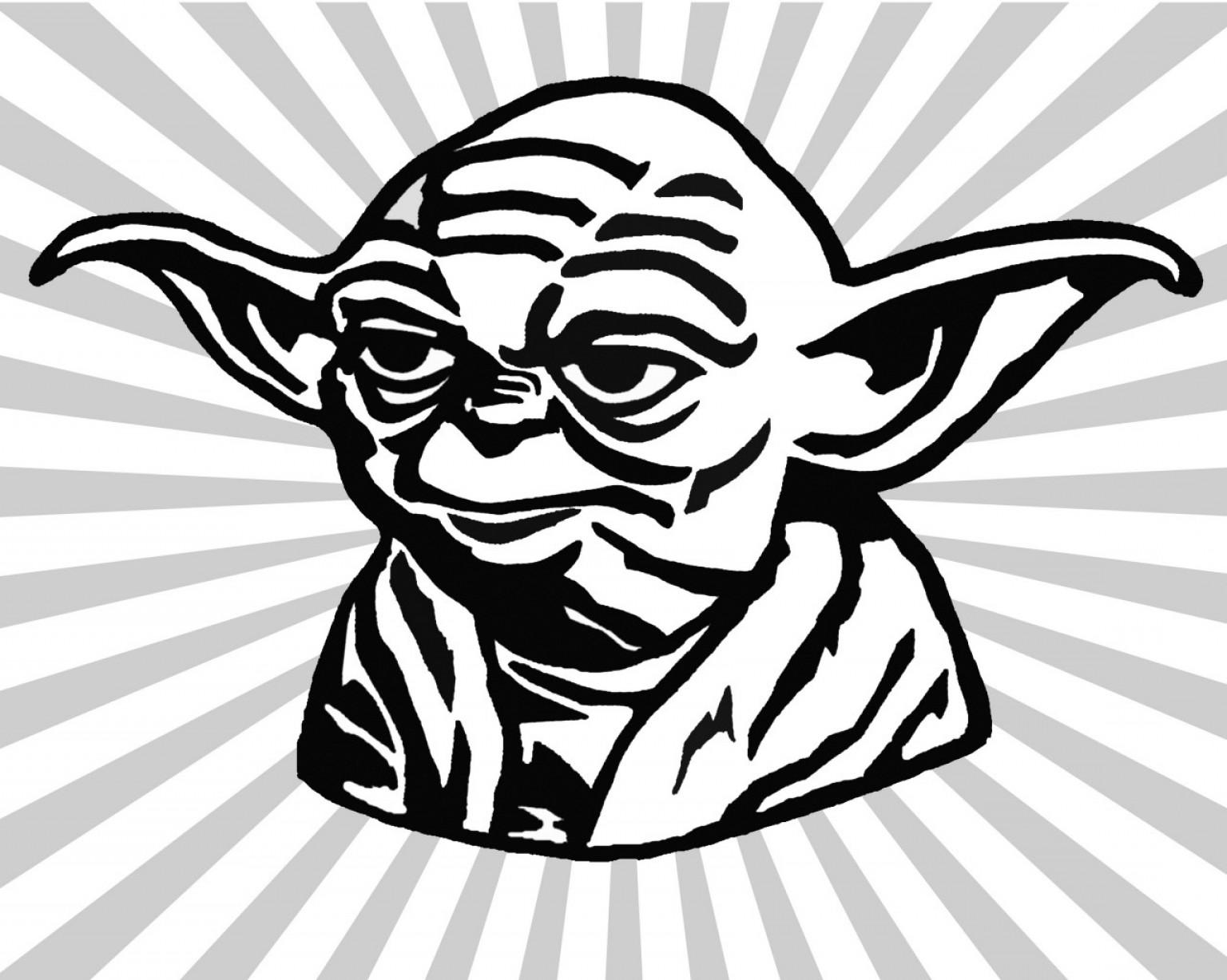 Yoda Vector: Chic Design Yoda Clipart Cartoon Vector Art Graphics  Freevector Com