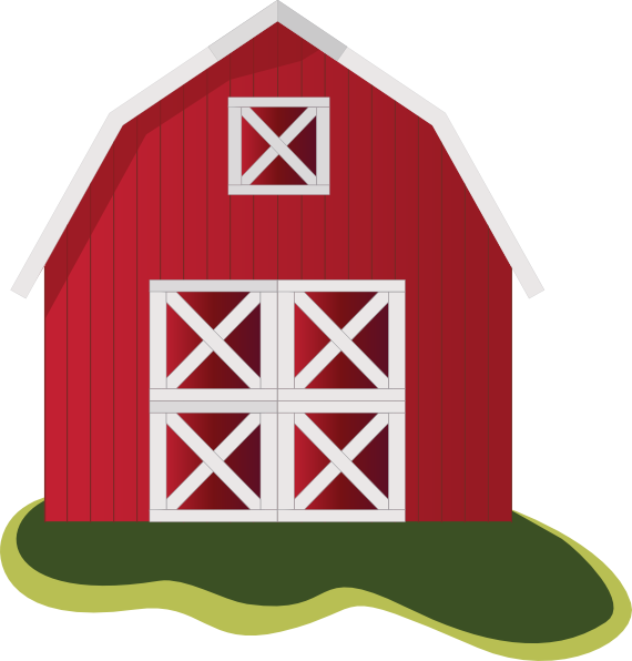 You can use this cool red barn clip art for personal or commercial use. You can use this clip art on your farm projects, storybooks, school projects, ...