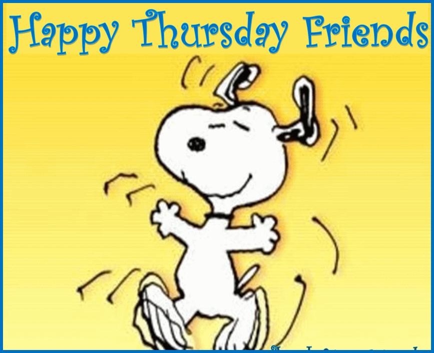You Happy Thursday Friends .