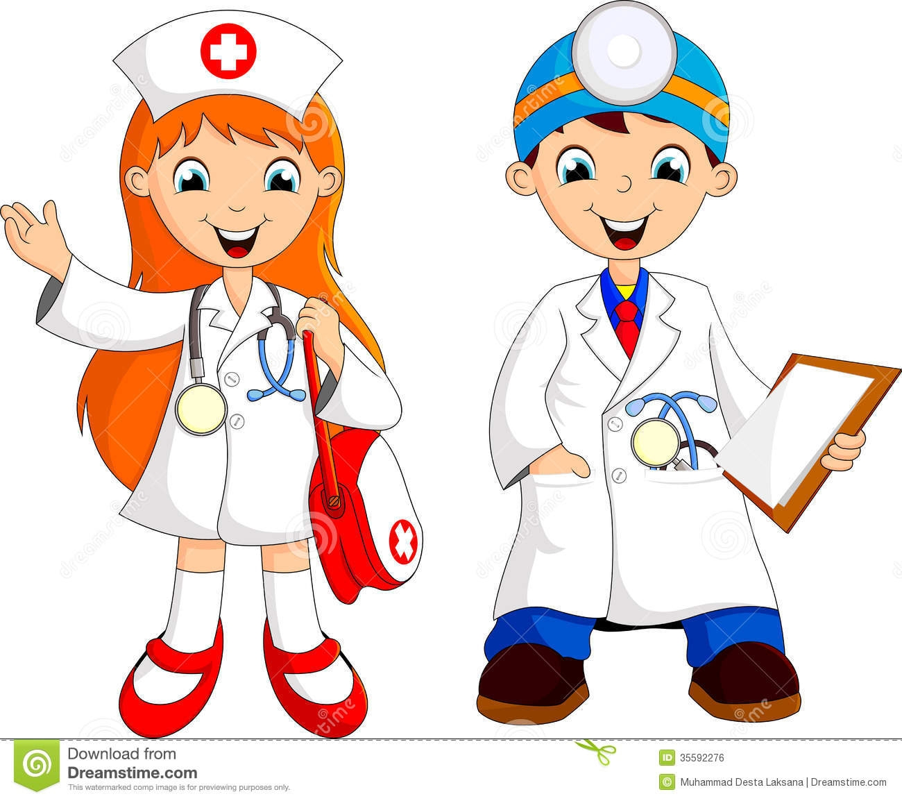 Young Doctor Clipart
