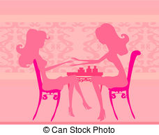 ... Young lady doing manicure in beauty salon
