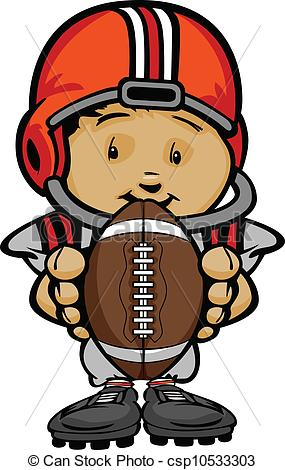 Youth Football Clipart