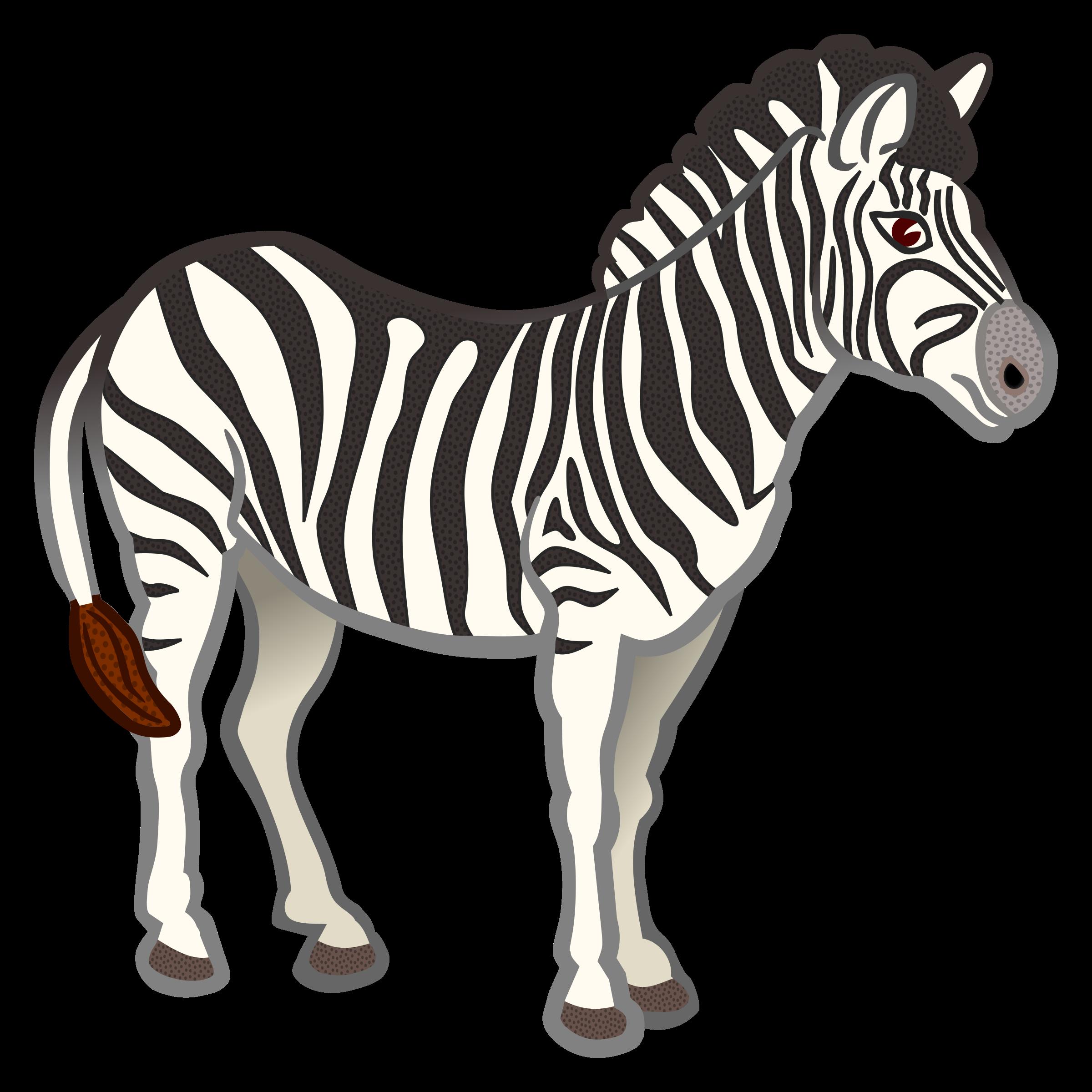 Free zebra clip art clipart 2