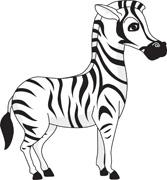 Free Zebra Clipart - Zebra Clipart